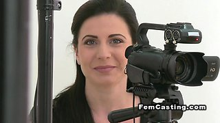 video titel: Female agent in lingerie fucks brunette || porn tgas: agent,amateur,babe,blonde,