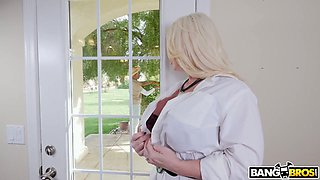 video titel: Cute looking black buddy gets lured by busty MILF Alura TNT Jenson and sucked || porn tgas: ass,bbw,big cock,big tits,xcafe