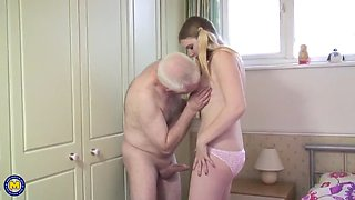 video titel: Dirty oldman fucks young babe || porn tgas: babe,dirty,fuck,old and young,xxxdan
