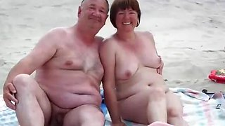 video titel: BBW Matures Grannies and Couples Living the Nudist Lifestyle || porn tgas: bbw,beach,big tits,couple,