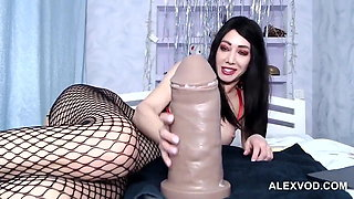 video titel: Whore female and monster dildos || porn tgas: anal,dildo,female,gaping,xhamster