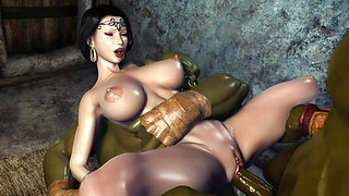 video titel: 3D Hentai Two Orcs find some Sexy Milf and get her creampied cartoon || porn tgas: 3d,cartoons,creampie,hentai,