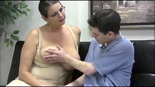 video titel: Teacher Helps Boy Student || porn tgas: bbw,big tits,boy,brunette,xhamster
