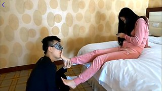 video titel: Chinese foot licking || porn tgas: asian,chinese,foot,licking,hotmovs