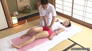 video titel: Asian babe in wet T shirt Ichika Aimi gets her pussy fucked and creampied || porn tgas: asian,babe,creampie,fuck,anysex