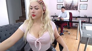 video titel: Mssblondiee || porn tgas: amateur,couple,office,jizzbunker