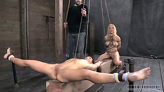 video titel: Two insanely horny chicks get punished really hard || porn tgas: bdsm,big tits,chick,femdom,mylust