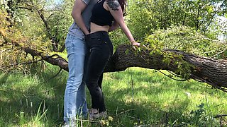 video titel: Public Sex In The Forest With Wife LeoKleo || porn tgas: park,public,wife,gotporn