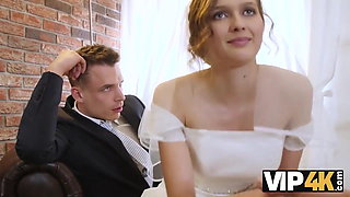 video titel: Rich man pays well to fuck hot young babe on her wedding day || porn tgas: babe,blowjob,bride,cuckold,xhamster