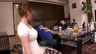 video titel: His wife was drunk with friends || porn tgas: amateur,asian,big tits,cuckold,upornia