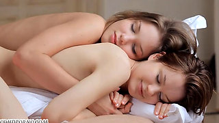 video titel: Two sweet twin sister have lesbian sex movie from video site LOOK || porn tgas: lesbian,sister,sweet,