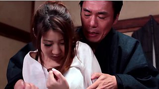 video titel: House maid Hitomi Kitagawa gets raped by her master || porn tgas: asian,ass,big tits,brunette,anyporn