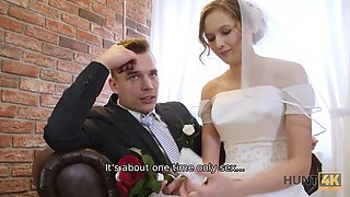 video titel: Rich man pays well to fuck hot young babe on her wedding day || porn tgas: babe,bride,cuckold,czech,xxxdan