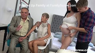 video titel: Pregnant maid watching family fuck || porn tgas: family,maid,pregnant,watching,jizzbunker