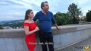 video titel: Dad has no choice so why he is watching his daughter riding hunters boner || porn tgas: czech,daddy,daughter,doggy,hotmovs