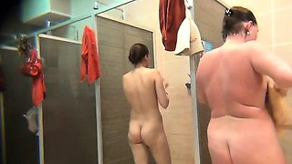 video titel: Women caught on a spy camera in a shower || porn tgas: caught,hidden,shower,woman,nuvid