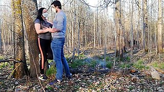 video titel: Brother fucked stepsister in a barbecue forest in coronavirus epidemic 2020 || porn tgas: amateur,brother,fuck,high definition,