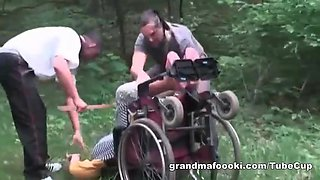video titel: Granny gets forced to sex || porn tgas: 3some,blowjob,forced,granny,upornia