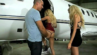 video titel: two pretty blondes and a guy the party.    porn tgas: blonde,gay,party,pretty,xhamster