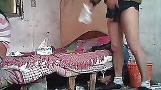 video titel: Messy room, messy fucking with a Chinese hooker || porn tgas: amateur,asian,chinese,fuck,PornoSex