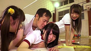 video titel: Cute Jav Idol Teens Bibi Yuna Ayu Fucked In The Gym Petite Girls With Small Tight Asses || porn tgas: ass,cute,fitness,fuck,gotporn