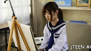 video titel: Cute japanese schoolgirl gets screwed in plenty of positions || porn tgas: asian,cute,hairy,japanese,drtuber