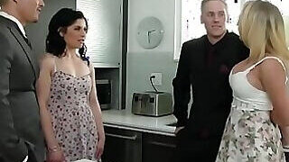 video titel: MILF next door is going to get fucked right here || porn tgas: 3some,bride,cougar,cuckold,PornoSex