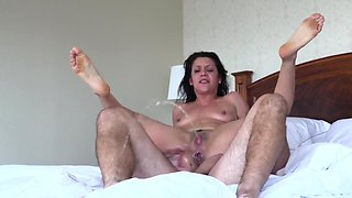 video titel: Anal ride in hotel room drives pretty chick to squirting orgasm || porn tgas: anal,blowjob,chick,girlfriend,hdtube