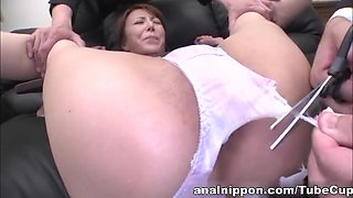 video titel: Reiko Sawamura Gets Double Finger Penetration In The Office || porn tgas: anal,asian,bdsm,double,upornia