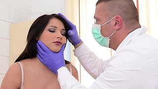 video titel: Horny doctor punishes lovely babe Lana || porn tgas: babe,big tits,brunette,doctor,nuvid