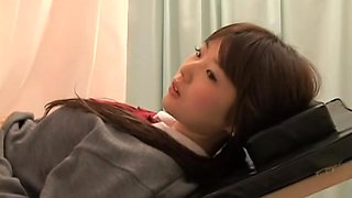 video titel: Real gyno sex video with asian slut examined by kinky doctor || porn tgas: amateur,asian,doctor,japanese,voyeurhit