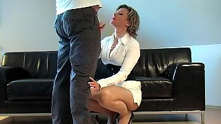 video titel: German Fantastci Cook Jerking in front of him white suit heels || porn tgas: european,fetish,foot,german,hotmovs