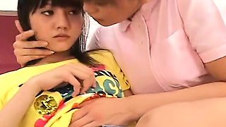 video titel: Subtitled Japanese lesbian nurse with aroused patient || porn tgas: aroused,asian,japanese,lesbian,drtuber