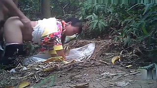 video titel: Asian Prostitute Outdoors Doggy Style || porn tgas: amateur,asian,brunette,doggy,