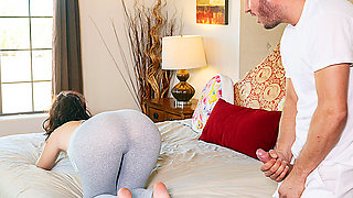 video titel: Fucking The Fraud || porn tgas: bed,brunette,cheating,fingering,tubedupe