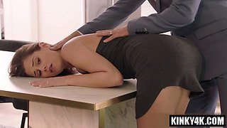 video titel: Brunette cowgirl spanking and creampie    porn tgas: brunette,cowgirls,creampie,spanking,upornia