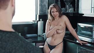 video titel: Busty Lena Paul wants a friend to fuck her tight hairy pussy || porn tgas: big tits,blowjob,busty,couple,anyporn