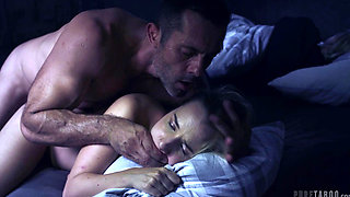 video titel: Taboo Mona Blue || porn tgas: bed,cumshots,daddy,daughter,