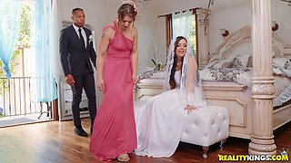 video titel: Bride to be Whitney Wright gets her makeup messed up while fucked hard || porn tgas: blowjob,bride,brunette,couple,anyporn