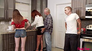 video titel: My Freaky Swap Family || porn tgas: big ass,big tits,brunette,creampie,jizzbunker