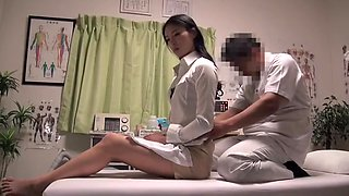 video titel: Marunouchi OL Professional Massage Clinic 20 || porn tgas: massage,nurse,voyeurhit