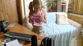 video titel: This Is What She Does After School Is Over    porn tgas: school,