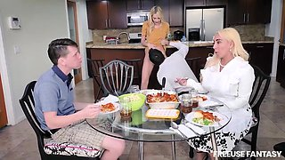 video titel: Kenna James, Kylie Kingston Step Family Dinner || porn tgas: family,high definition,stepfamily,gotporn