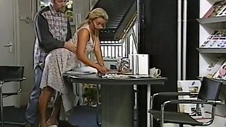 video titel: Lovely blondie with clean smooth shaved pussy rammed from behind || porn tgas: ass fucking,blonde,lovely,shaved,mylust