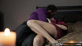video titel: HDVPass Chanel Preston Seduces Lucky Guy In Bedroom || porn tgas: babe,bed,brunette,gay,nuvid