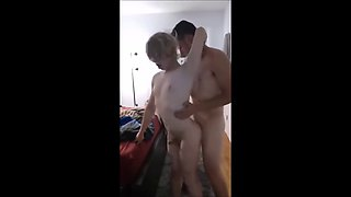 video titel: Cute Twink Gets Fucked While Standing || porn tgas: cute,fuck,gay,xxxdan
