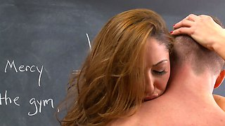 video titel: A kinky thing is caught cheating on the test by her teacher || porn tgas: amateur,babe,big ass,big tits,avideos