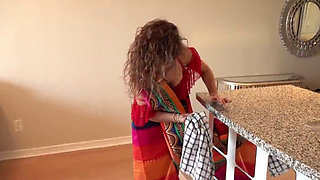video titel: Old Maid in Saree Fucked by Young Dude NiksIndian || porn tgas: dude,fuck,maid,old and young,