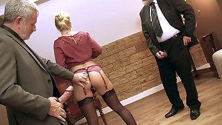 video titel: Subordinate Fuck by Old Boss || porn tgas: boss,fuck,gangbang,group,pornone_com