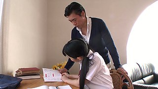 video titel: Japanese college cutie lures her tutor and sucks his delicious cock in 69 pose    porn tgas: cock,college,cute,japanese,xcafe